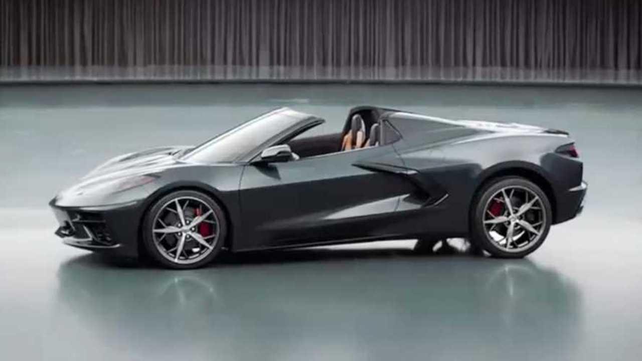 2020 Chevy Corvette Convertible pre-production