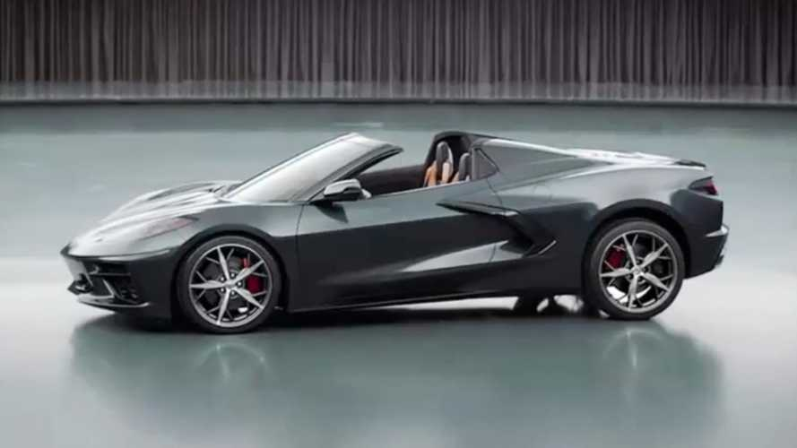 2020 Chevy Corvette Convertible pre-production