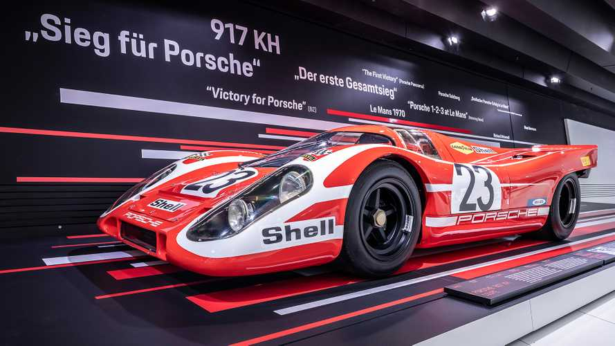 """Neue Sonderausstellung """"50 Jahre Porsche 917 – Colours of Speed"""""""