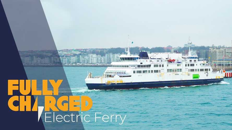 Fully Charged Presents Electric Ferry With 4.1 MWh Battery: Video