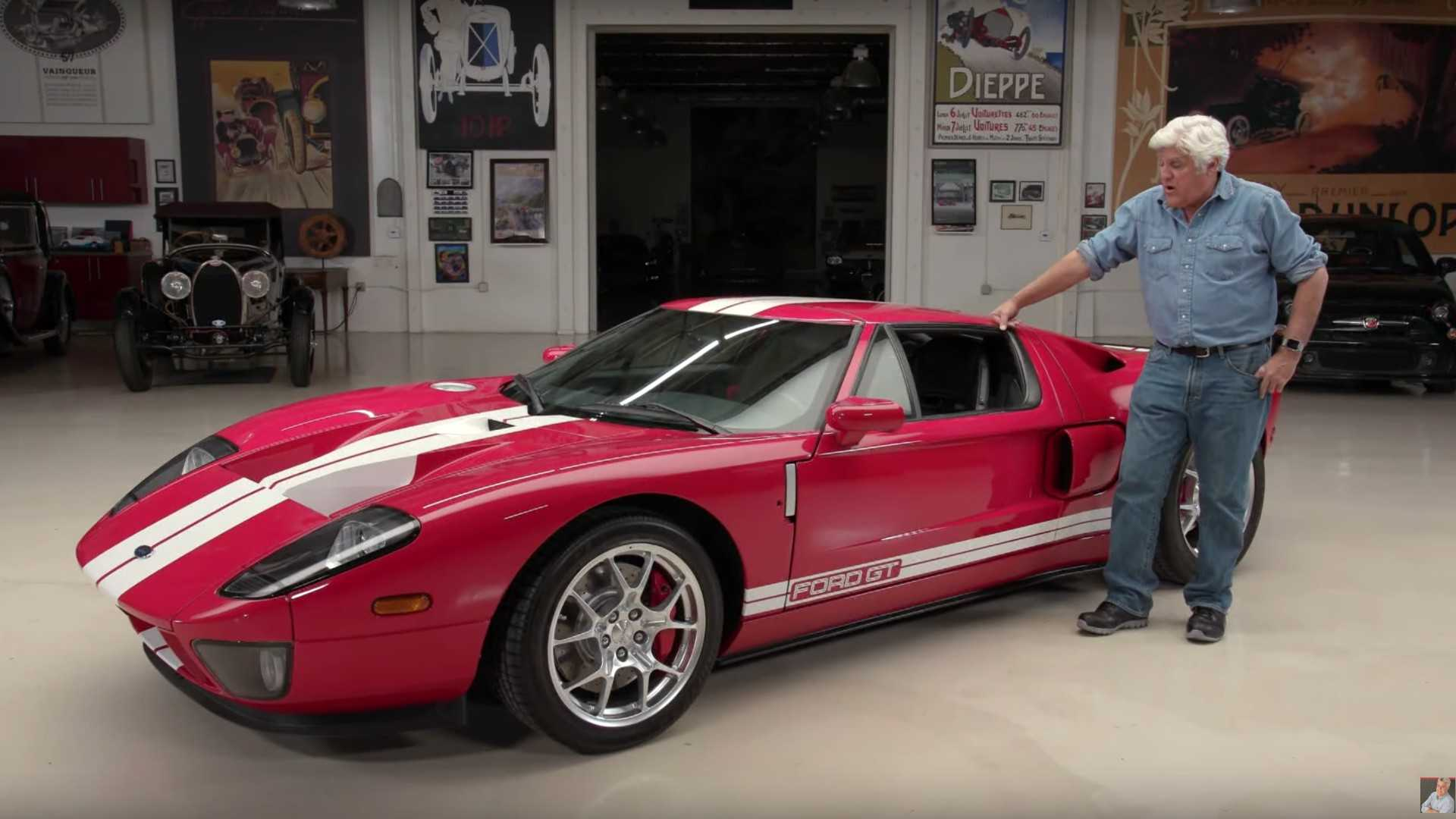 Jay Leno Learns The Secrets Of His 2005 Ford GT
