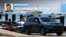 long term 2019 honda pilot elite towing test