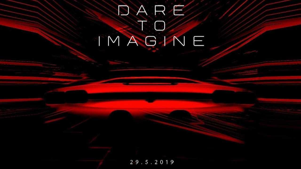 Ferrari hybrid supercar teaser