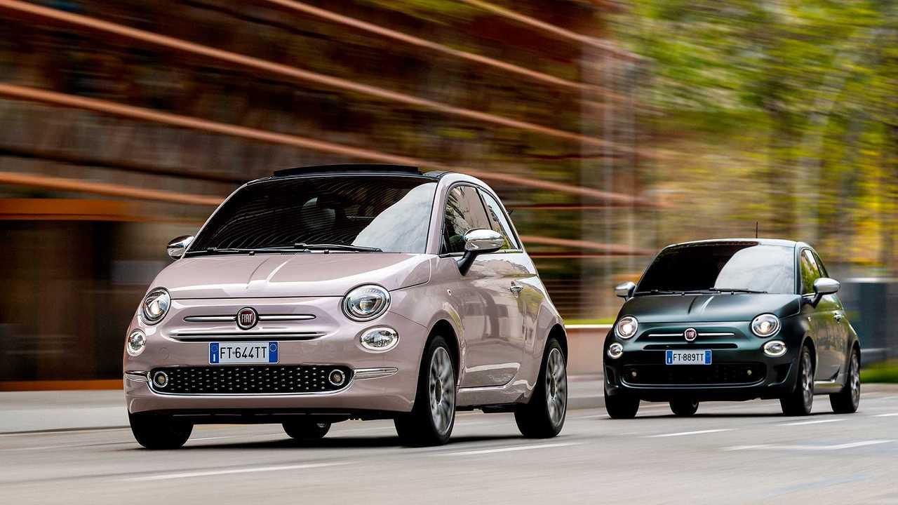 Fiat 500 Star und Fiat 500 Rockstar