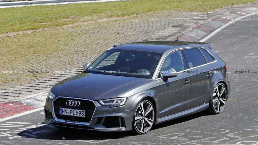 Voici le premier prototype de la future Audi RS 3