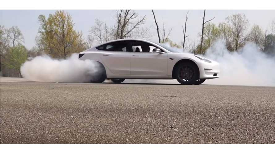 Tesla Model 3 RWD 0-60-MPH Before & After Performance Update: Video