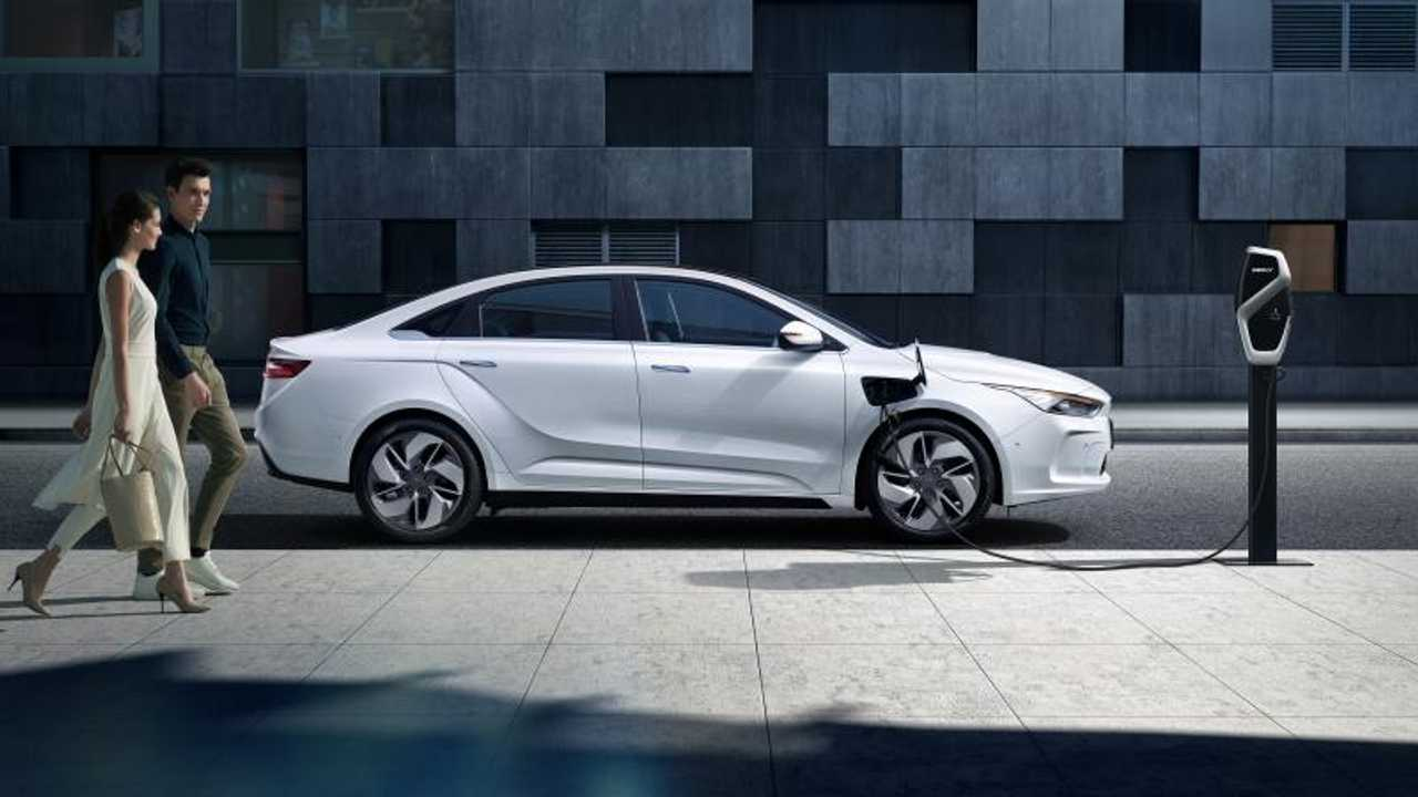 Geely Geometry A Electric Car Launches In China