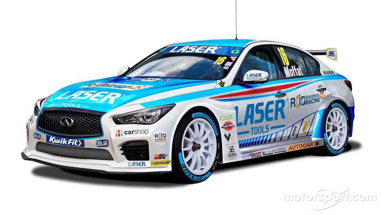 Laser Tools Racing BTCC Infiniti Q50