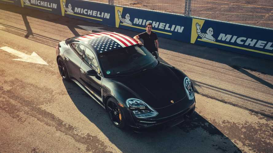 Porsche Taycan Takes To The Track At Formula E Finale: Video