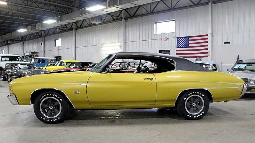 Placer Gold '71 Chevrolet Chevelle SS Is Ready To Run