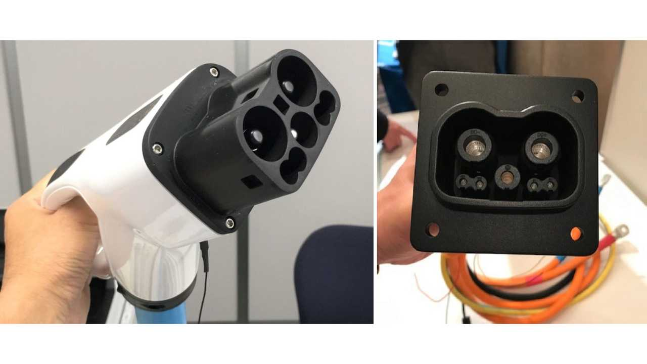 Prototype for the new GB/T – CHAdeMO plug/inlet