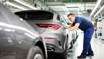 Mercedes-Benz CLA Shooting Brake production start