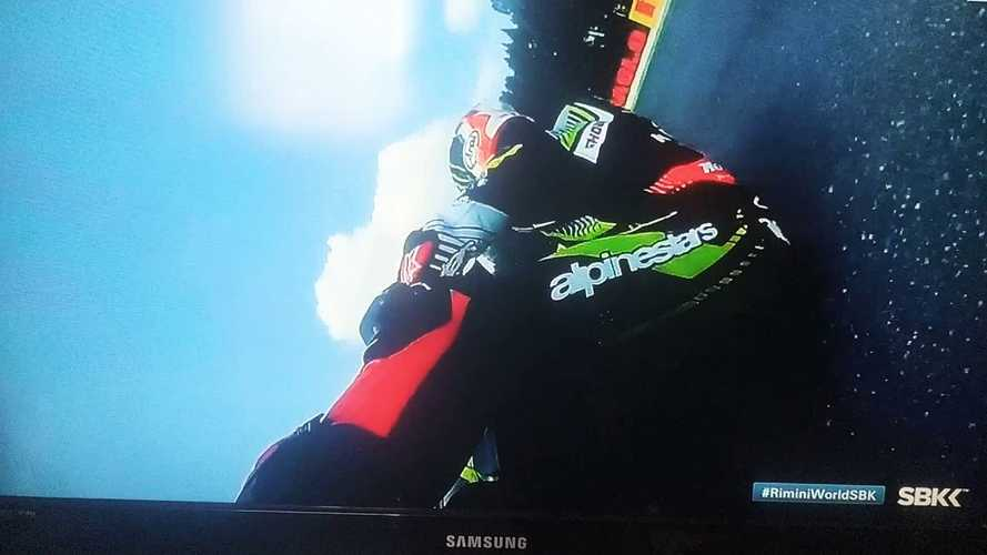 Watch WSBK Champion Jonathan Rea Survive The Weirdest Crash
