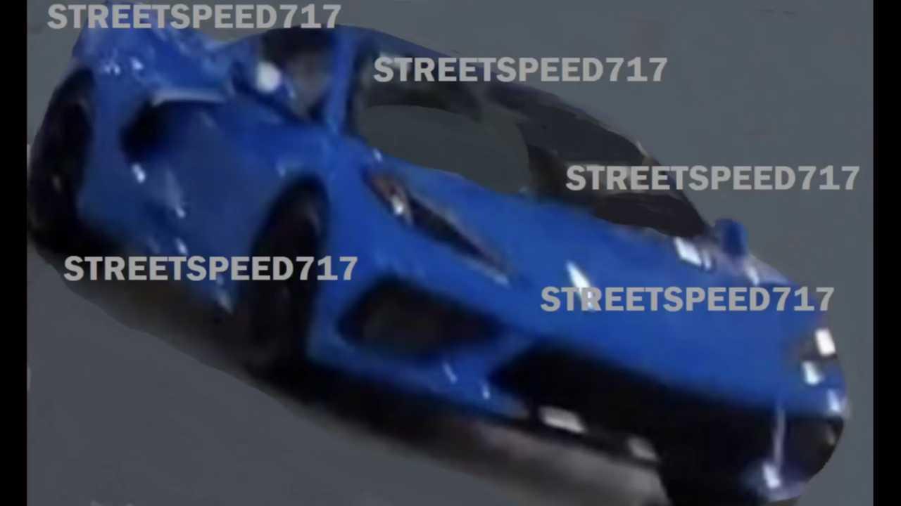 C8 Corvette Alleged Leaked Photo