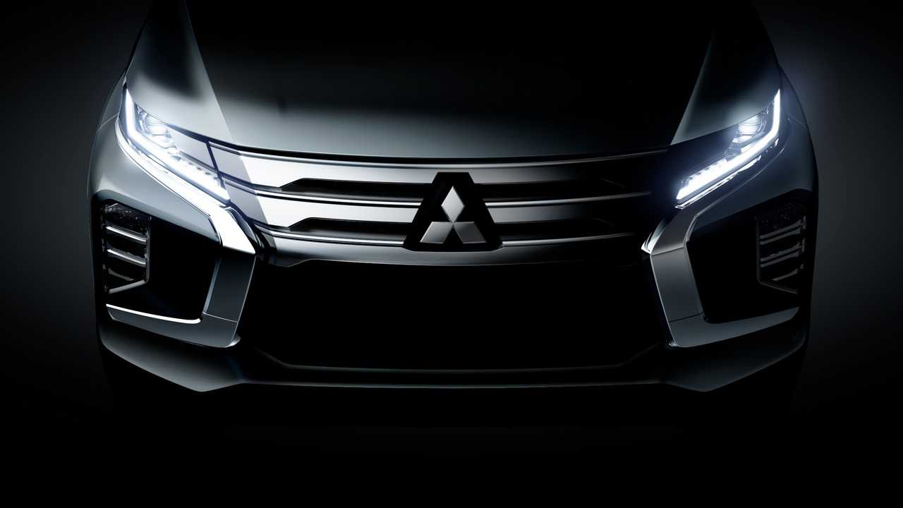 2020 Mitsubishi Pajero Redesign And US Release Date >> 2020 Mitsubishi Pajero Sport Teased Ahead Of July 25 Debut