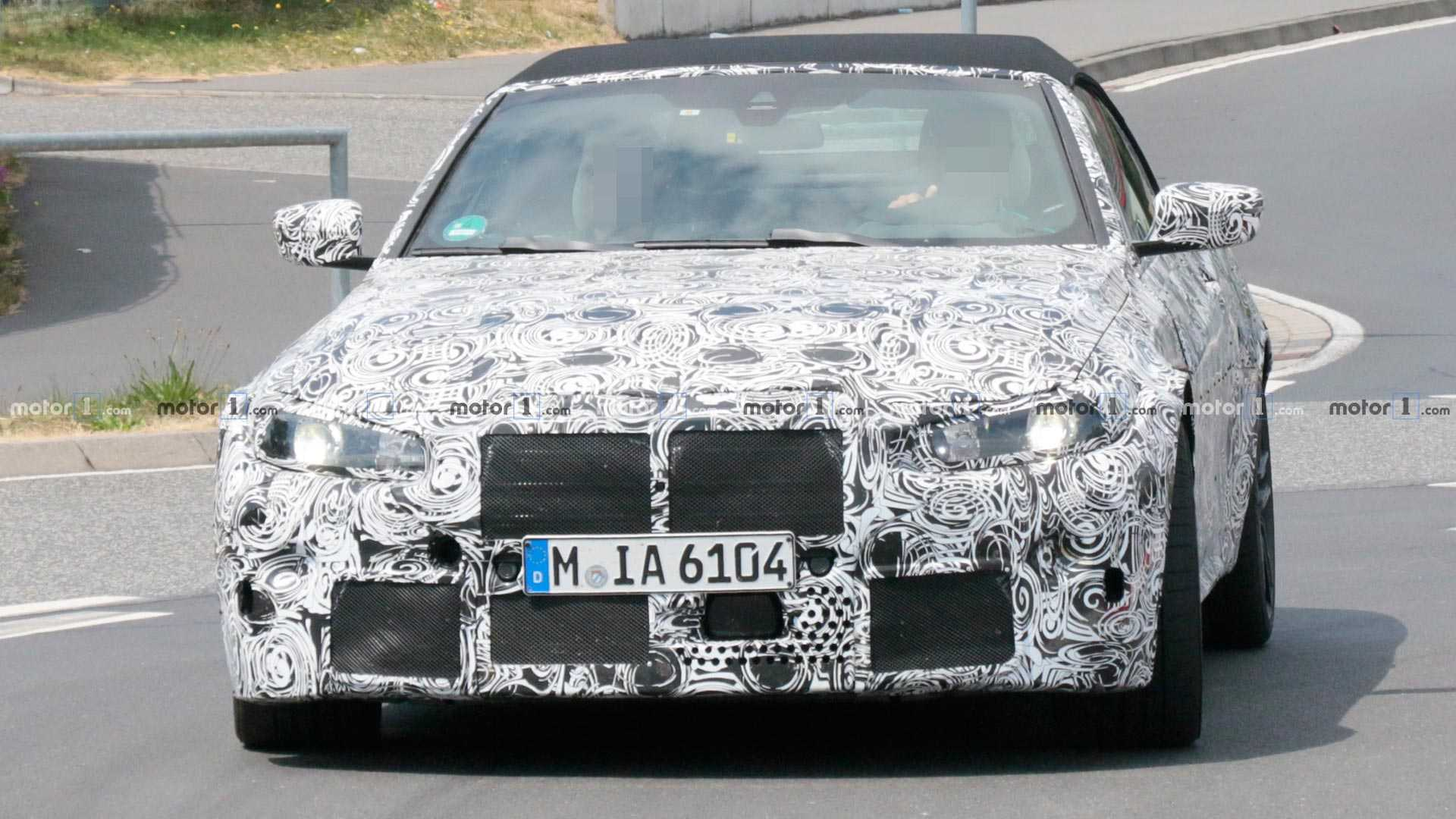 bmw-m4-cab​riolet-spy​-shots
