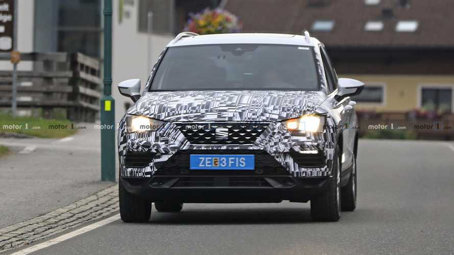 SEAT Ateca facelift photos espion