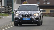 Seat Ateca facelift spy photos
