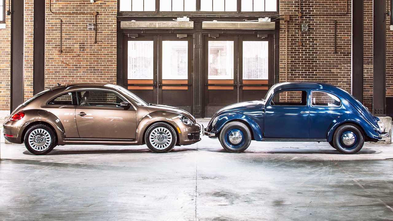 Volkswagen Maggiolino, 81 anni di storia per immagini