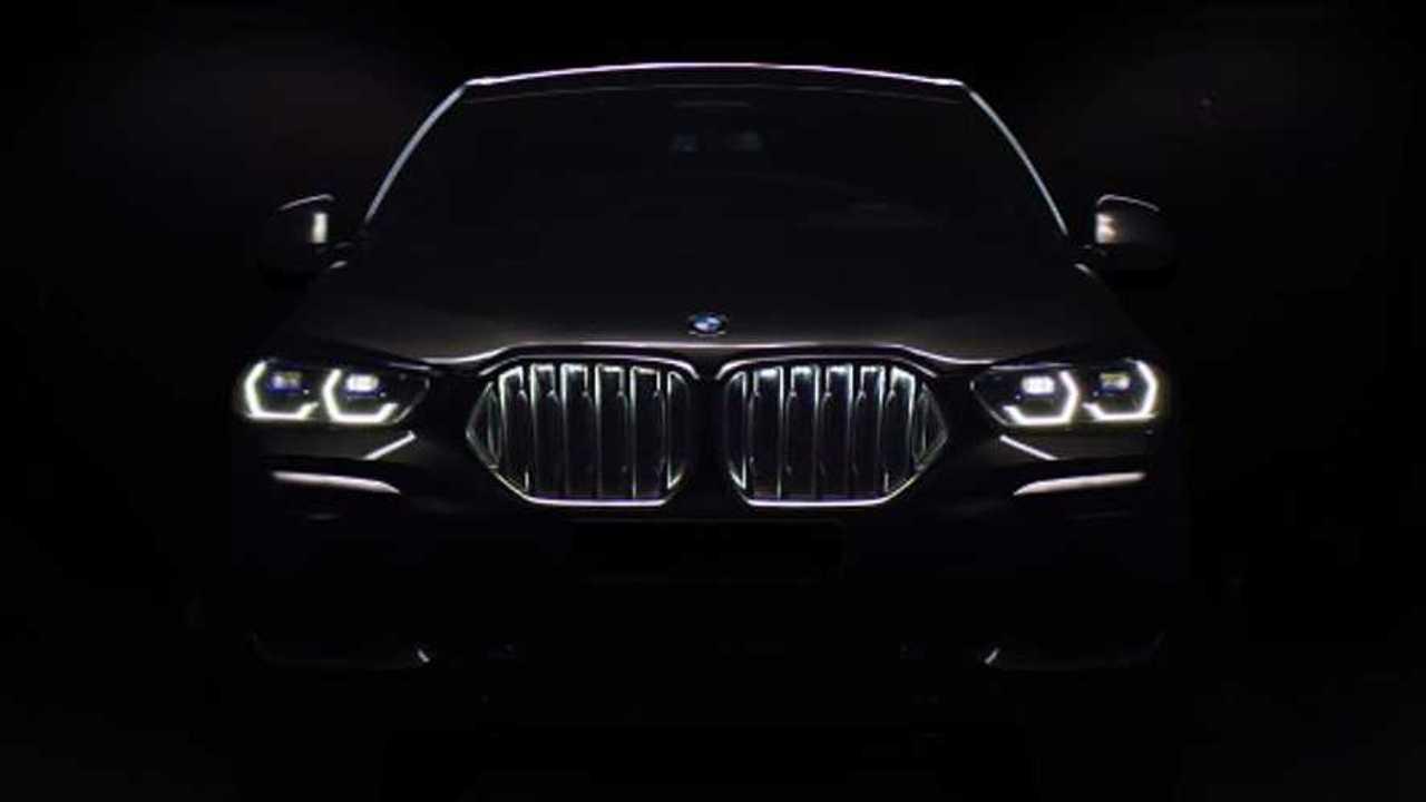2020 BMW X6 teaser image
