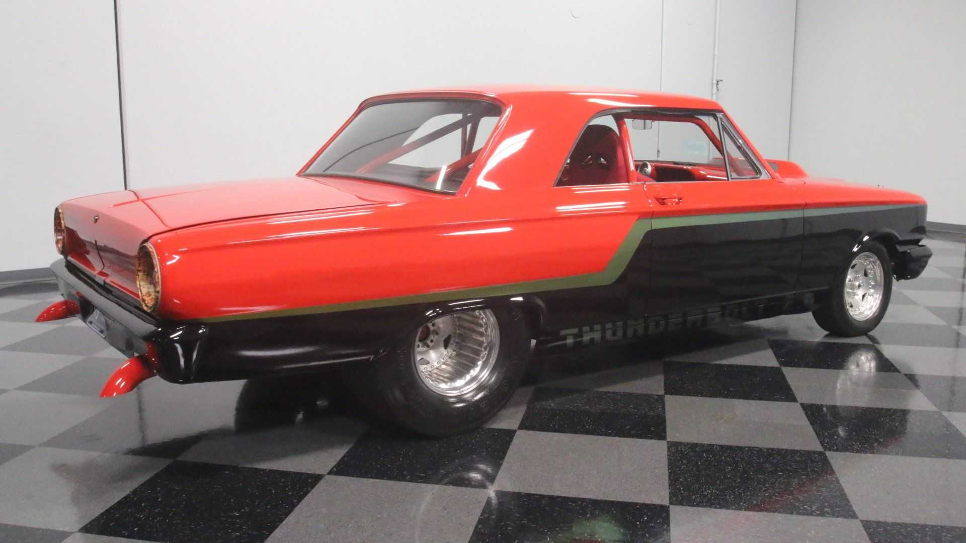 Wicked 1964 Ford Fairlane Pro Street Will Mess Up The
