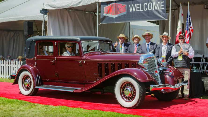 Hillsborough Names 1933 Chrysler Imperial LeBaron 'Best of Show'