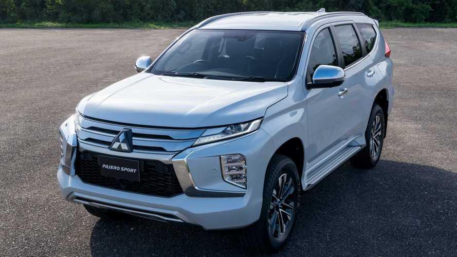 Mitsubishi Pajero Sport de cara nova é registrado no Brasil