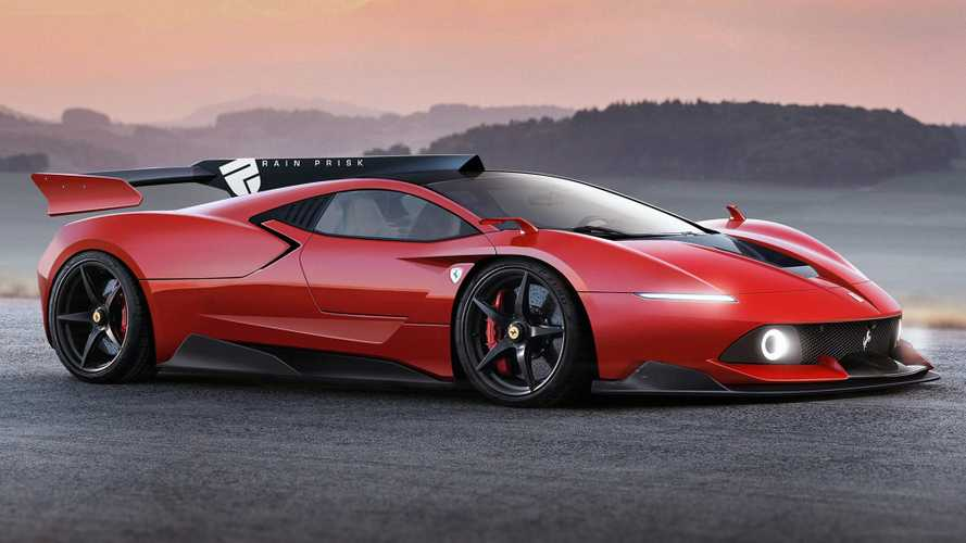 LaFerrari successor rendering isn't real, but it is stunning