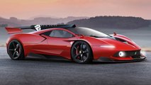 Classic concept cars rendered as modern production vehicles