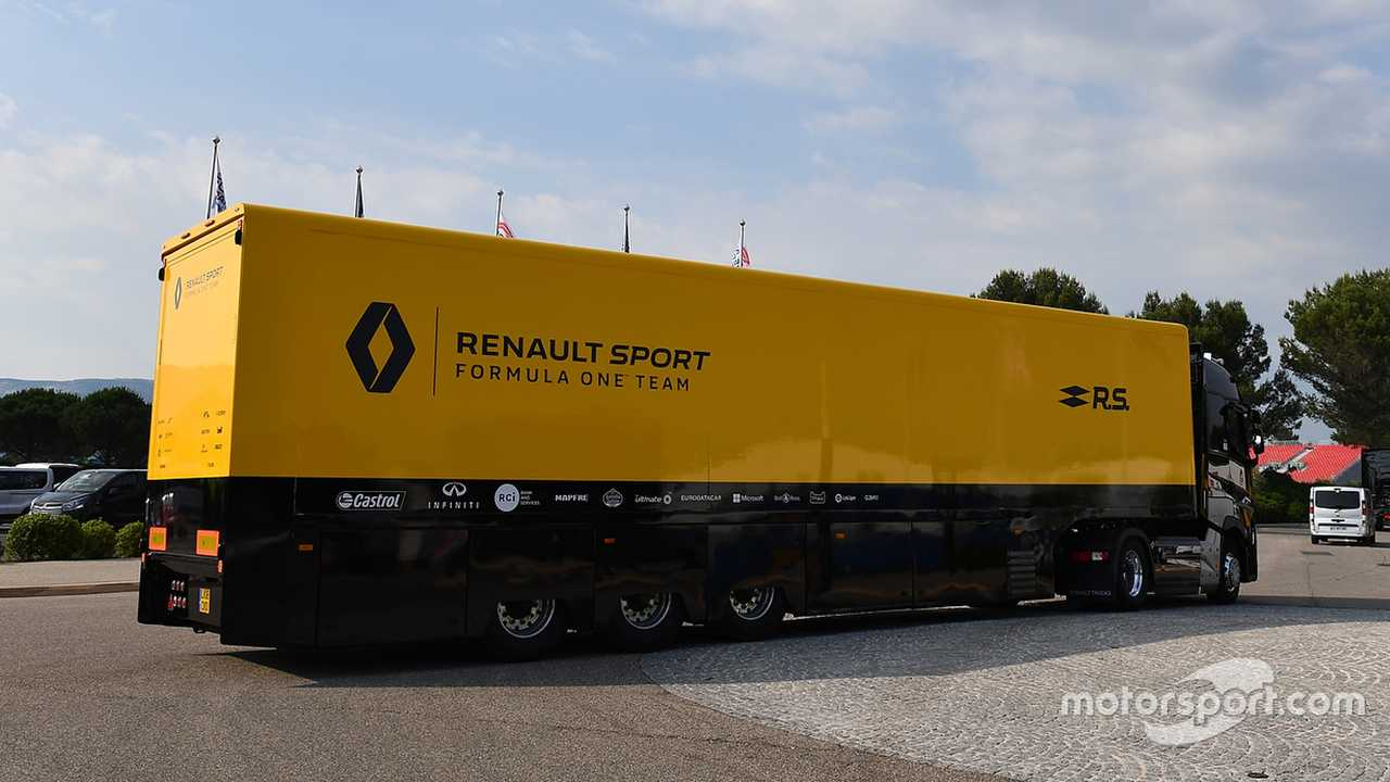 Renault Sport F1 Team truck at French GP 2018