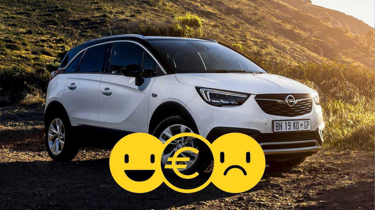Promozione Opel Crossland X aprile