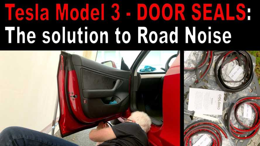 These Cheap Tesla Model 3 Door Seals Make A Huge Difference: DIY Video