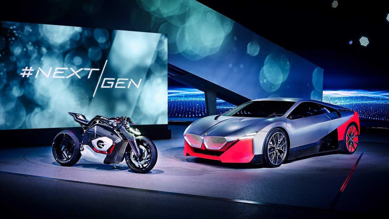BMW Vision M Следующая концепция