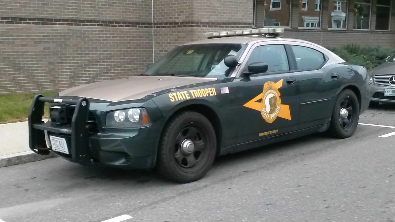 New Hampshire State Police Cruiser
