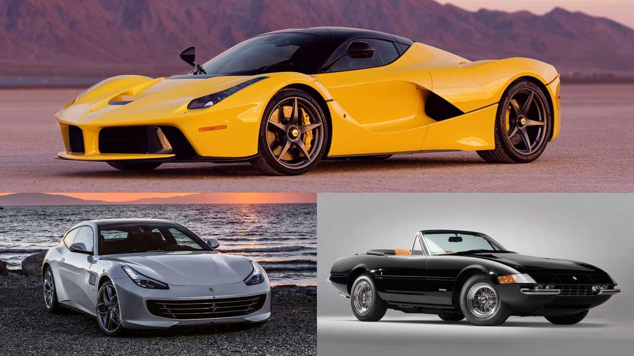 Ferrari: Daytona Spyder, GTC4Lusso, LaFerrari