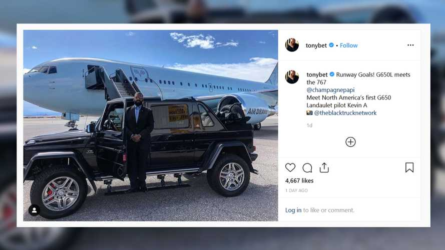 This is Drake's ultra opulent Mercedes-Maybach G650 Landaulet