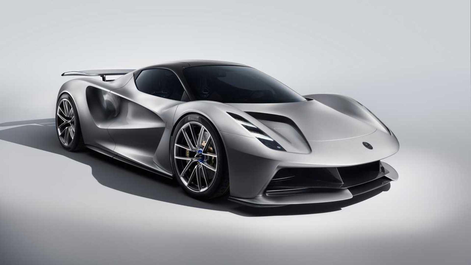 2020 Lotus Evija EV Hypercar Debuts With Nearly 2,000 HP