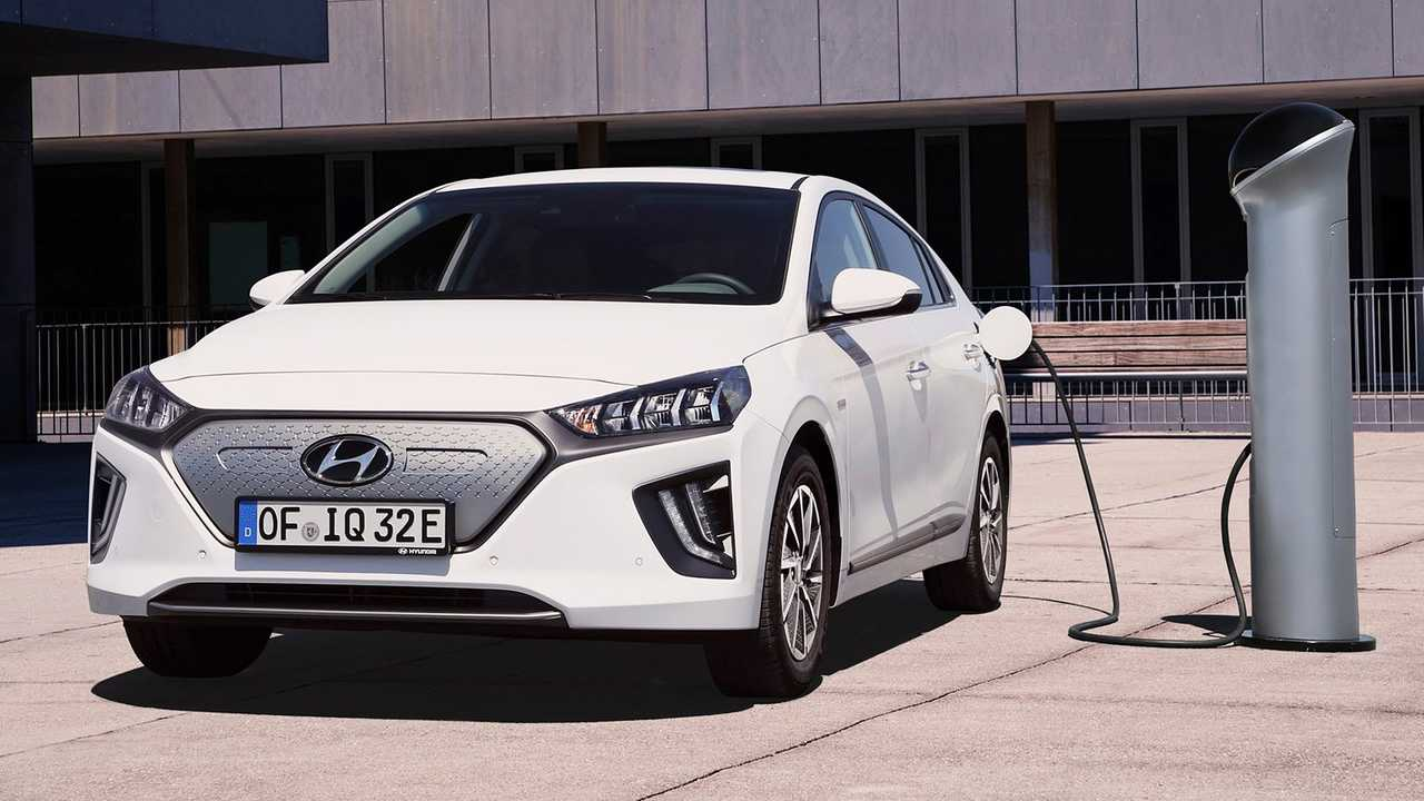 Hyundai Ioniq Electric restyling