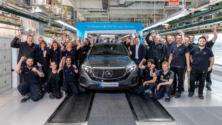 Mercedes-Benz EQC Electric SUV Now In Production