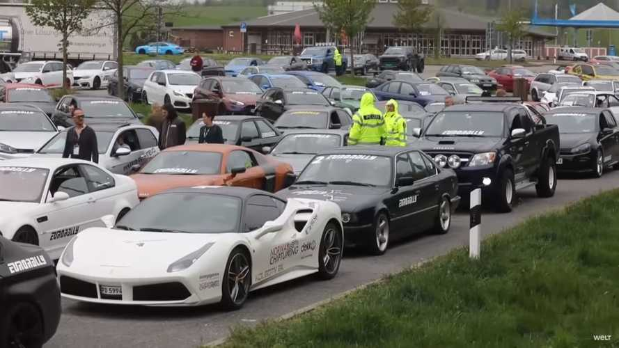 Eurorally hits speed bump after 100 Cars impounded for illegal racing