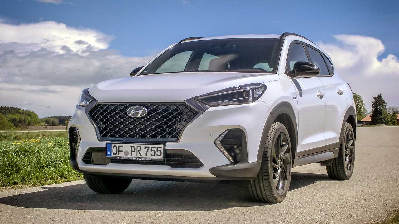 hyundai tucson n line 2019 im kurztest neue sport. Black Bedroom Furniture Sets. Home Design Ideas