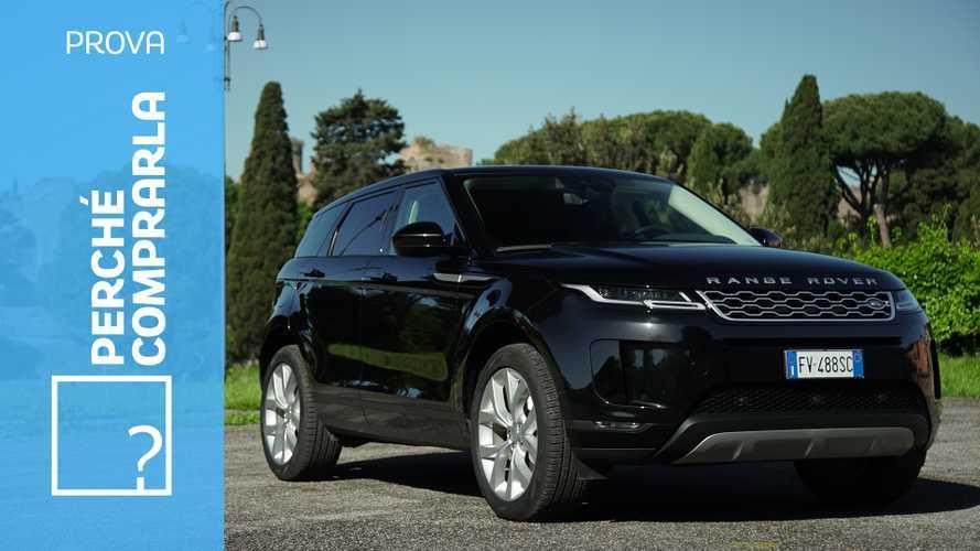 Range Rover Evoque, perché comprarla… e perché no