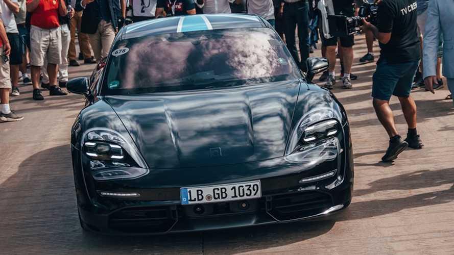 Porsche Taycan 2019-ben Goodwood