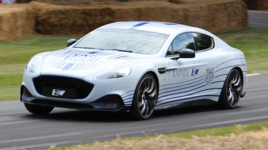 Aston Martin Rapide E Arrives At Goodwood FoS As Sleek EV