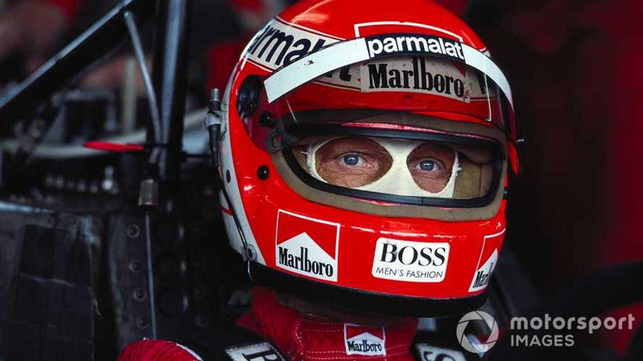 Niki Lauda at Austrian GP 1984
