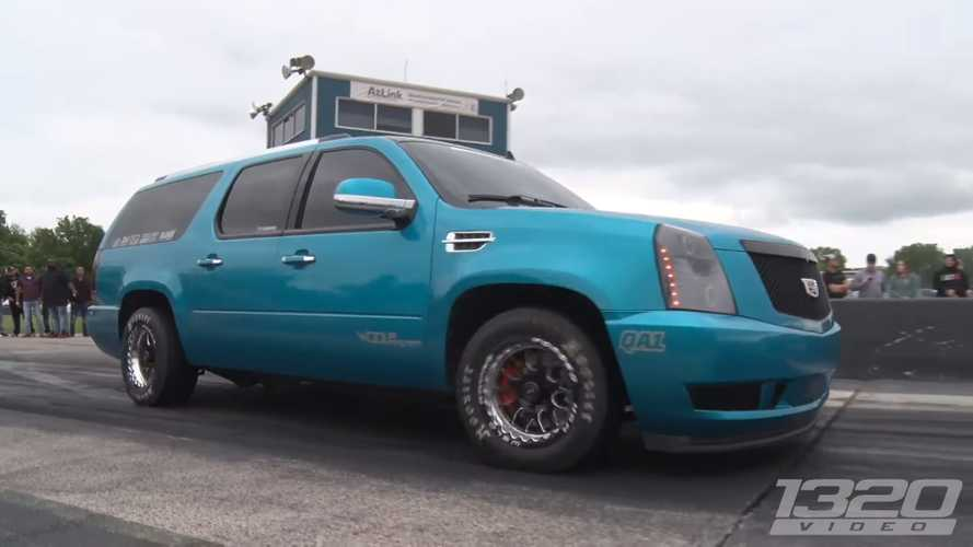 Come dominare le drag race con una Cadillac Escalade