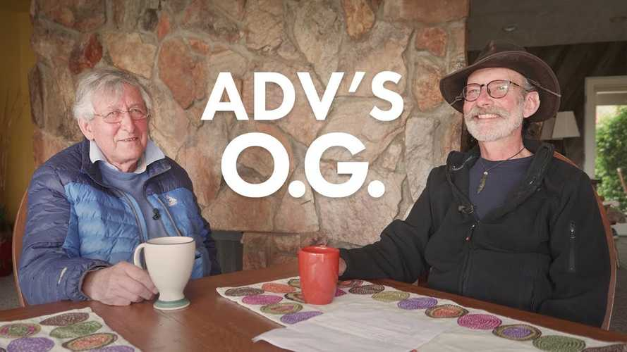 Watch These ADV Bike Legends Have Tea And Reminisce
