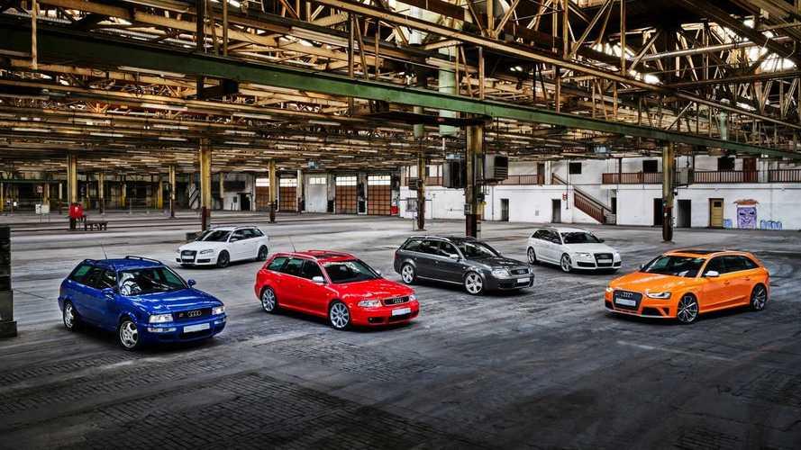 Audi Sport celebra 25 anos de lançamento do primeiro modelo RS