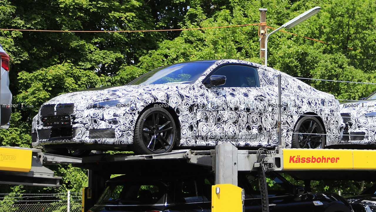 2021 BMW 4 Series Coupe spy photo
