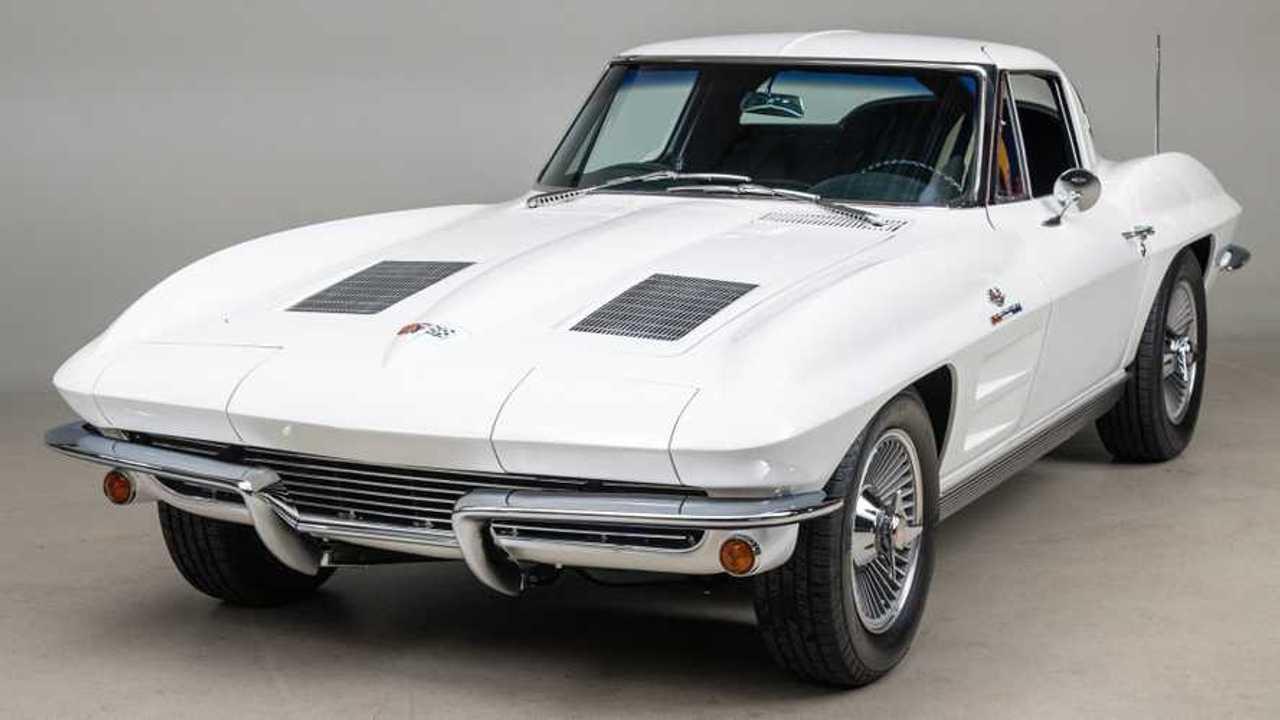 Own This Iconic 1963 Chevrolet Corvette Split-Window Coupe